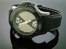 Buy Men's Techno Master 0.15CT Diamond Watch 43mm TM-2128 Black case