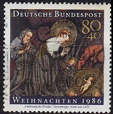 Buy GERMANY BUND [1986] MiNr 1303 ( O/used ) Weihnachten
