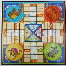 Buy Parcheesi 2001 Game Board Only Replacement Game Part Piece Quad-Fold