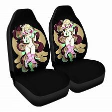 Buy Pearl and Marina Car Seat Covers Nerdy Geeky Pop Culture Set of 2 Front Seat