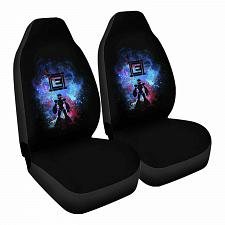Buy Mega Art Car Seat Covers Nerdy Geeky Pop Culture Set of 2 Front Seat