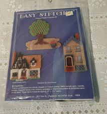 Buy Vintage MIP 1989 Kappie Plastic Canvas Kit Easy Stitchin Home Sweet Home