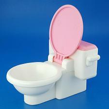 Buy Fisher Price Loving Family Dream Doll House Pink White Bathroom Toilet 1993