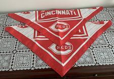 Buy Two Brand New Cincinnati Red Baseball Design Dog Bandanas For Dog Rescue Charity