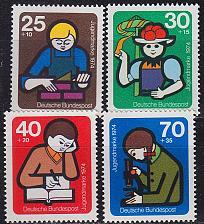 Buy GERMANY BUND [1974] MiNr 0800-03 ( **/mnh )