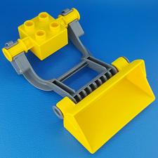 Buy Lego Duplo Large Front Loader 5650 Yellow Bucket Arms Holder Replacement Piece
