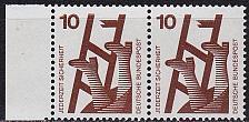 Buy GERMANY BUND [1971] MiNr 0695 A 2er ( **/mnh )