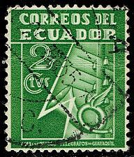 Buy Ecuador #RA29 Post and Telegraph Service Symbol; Used (3Stars) |ECURA29-11XBC