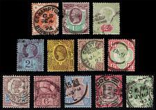 Buy Great Britain #111-122 Victoria Jubilee Set of 12; Used (2Stars) |GBR0122set-01XDP