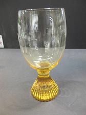 Buy Lenox Tempo water glass yellow hand blown