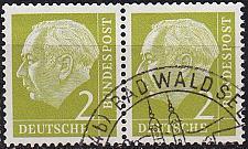 Buy GERMANY BUND [1954] MiNr 0177 2er ( O/used )
