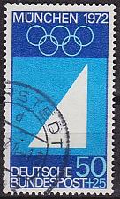 Buy GERMANY BUND [1969] MiNr 0590 ( O/used ) Olympiade