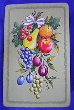 Buy Whitman Fruit Playing Cards Retro Apples Pears Grapes Cherries Vintage