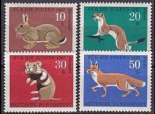 Buy GERMANY BUND [1967] MiNr 0529-32 ( **/mnh ) Tiere