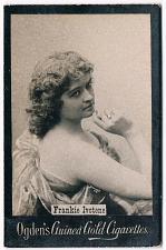 Buy Ogden's Guinea Gold Cigarettes Tobacco Card Frankie Ivotene Vintage