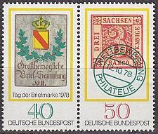 Buy GERMANY BUND [1978] MiNr 0980+81 WZd1 ( **/mnh ) Briefmarken