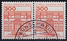 Buy GERMANY BERLIN [1982] MiNr 0677 2er ( O/used ) Burgen Schlösser