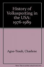 Buy History of Volkssporting In The USA By Charlene Agne Traub 4 Dog Rescue Charity