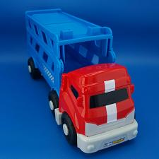 Buy Fisher Price Little People Wheelies Sports Car Carrier Hauler Semi Truck BGC65