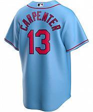 Buy Men's Matt Carpenter Light Blue St. Louis Cardinals Alternate 2020 Replica Player Jer