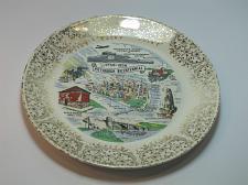 Buy Pittsburgh Bicentennial plate made in USA 22K