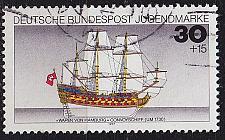 Buy GERMANY BUND [1977] MiNr 0929 ( O/used ) Schiffe
