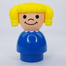 Buy Fisher Price Little People Play School Ponytails Girl Replacement Jumbo Figure