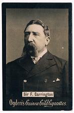 Buy Ogden's Guinea Gold Cigarettes Tobacco Card Sir F. Carrington Vintage