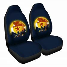 Buy Z Warriors Car Seat Covers Nerdy Geeky Pop Culture Set of 2 Front Seat