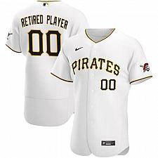 Buy Pittsburgh Pirates White Home Pick-A-Player Retired Roster Authentic Jersey
