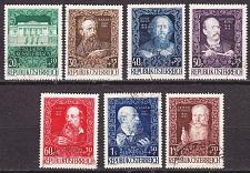 Buy ÖSTERREICH AUSTRIA [1948] MiNr 0878-84 ( O/used )
