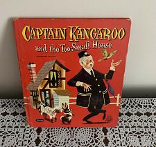 Buy Vintage 1958 Tell A Tale Book Captain Kangaroo And The Too Small House Very Good
