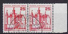 Buy GERMANY BERLIN [1978] MiNr 0587 2er ( O/used ) Burgen Schlösser