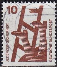 Buy GERMANY BUND [1971] MiNr 0695 D ( O/used )