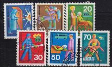 Buy GERMANY BUND [1970] MiNr 0629-34 ( O/used )
