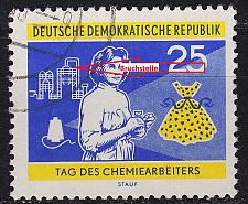 Buy GERMANY DDR [1960] MiNr 0803 F42 ( OO/used ) [01] Plattenfehler