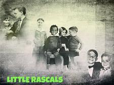 Buy THE LITTLE RASCALS 3 FT X 5 FT FABRIC BANNER