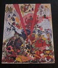 Buy X-MEN ZOMBIES print by Artist Frederick Eden - Comic Nerd Block Limited Edition
