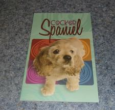 Buy Pet Kardlets Cocker Spaniel Paperback Facts Book For Dog Rescue Charity