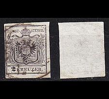 Buy ÖSTERREICH AUSTRIA [1850] MiNr 0002 Y ( O/used ) [01]