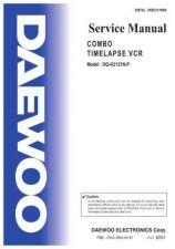 Buy Daewoo TCN2121EF0 Manual by download Mauritron #226830