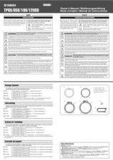Buy Yamaha TP120SD EN DE FR ES OM(1) Operating Guide by download Mauritron #250093