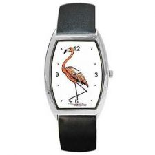 Buy Flamingo Bird Art Unisex Style Wrist Watch