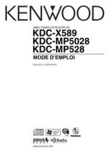 Buy Kenwood KDC-X589 by download Mauritron #222367