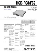 Buy Sony HCD-FC8 Manual by download Mauritron #229112