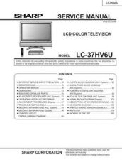 Buy Sharp LCDMAINT Service Manual by download Mauritron #209957
