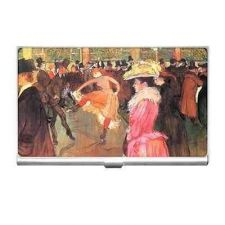Buy At The Moulin Rouge Art Business Credit Card Case Holder