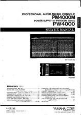 Buy Yamaha PM4000 SM1 C(1) Manual by download Mauritron #258669