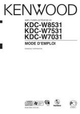 Buy Kenwood KDC-W8531 by download Mauritron #222344