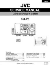 Buy JVC UX-P3parts Service Manual by download Mauritron #220792